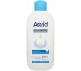Astrid Aqua Biotic osviežujúce čistiace pleťové mlieko pre normálnu a zmiešanú pleť 200 ml
