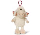 Nici Ovečka Jolly se závěsem bílá Plyšová hračka - nejjemnější plyš 15 cm