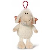 Nici Ovečka Jolly so závesom biela Plyšová hračka najjemnejšie plyš 15 cm