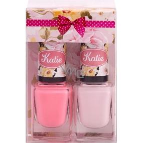 Moje Katie Orchidea lak na nechty 36 12 ml + lak na nechty 47 12 ml, kozmetická súprava č. 24