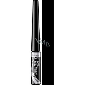 Rimmel London Scandaleyes Bold vodoodolné očné linky 001 Black 2,5 ml