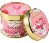 Bomb Cosmetics Čerešňová pálenka Vonná prírodné, ručne vyrobená sviečka v plechovej dóze horí až 35 hodín