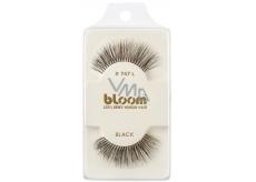 Bloom Natural nalepovacie riasy z prírodných vlasov obloučkové čiernej č. 747L 1 pár