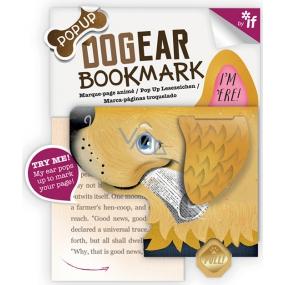 If Bookmark Dogear Záložka psí uši Golden Retriever 98 x 5 x 90 mm