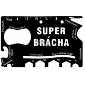 Albi Multináradie do peňaženky Super brácha 8,5 cm x 5,3 cm x 0,2 cm