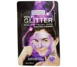 Beauty Formulas Fialová & trblietavá zlupovaciu pleťová maska 10 g