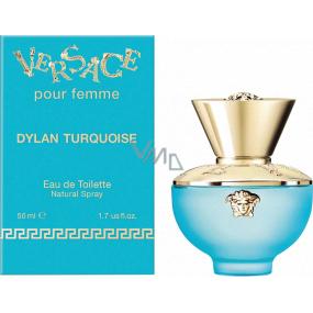 Versace Dylan Turquoise toaletná voda pre ženy 50 ml