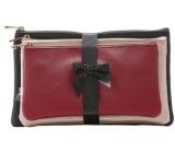 Diva & Nice Kozmetická kabelka malá 23 x 12 x 1 cm, stredná 25 x 14 x 1 cm, veľká 26 x 16 x 1 cm, sada 3 kusov 61438