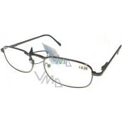 Berkeley Čítacie dioptrické okuliare +1 čierne CB02 1 kus MC2005