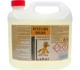 Labar kyselina solná chlorovodíková 31% technická 3 l