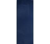 Nekupto Dárková kraftová taška na láhev 40 x 14 x 9 cm Modrá