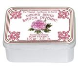 Le Blanc Pivonie - Pivoňka přírodní mýdlo tuhé v krabičce 100 g