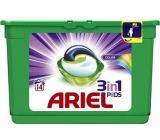 Ariel 3v1 Color gelové kapsle na praní prádla 14 kusů 418,6 g