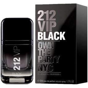 Carolina Herrera 212 VIP Men Black toaletná voda pre mužov 50 ml