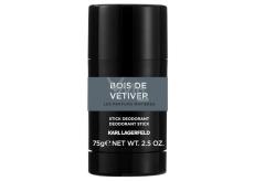 Karl Lagerfeld Bois de vetiver dezodorant stick pre mužov 75 g