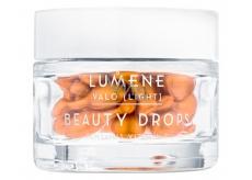 Lumene Beauty Drops Contains Vitamin C Rozjasňující kapsle s vitamínem C pro všechny typy pleti Light 28 kusů