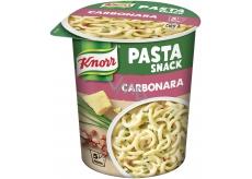 Knorr Snack Cestoviny so syrovou omáčkou a slaninou 55 g
