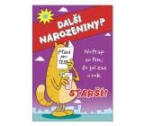 Albi Hrací přání do obálky K narozeninám Paráda Karel Zich 14,8 x 21 cm