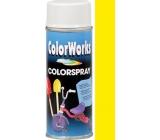 Color Works Colorspray 918503C žlutý alkydový lak 400 ml