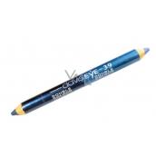 Princessa Davis Eye Double Colour očné tiene v ceruzke 039 Modrá s perleťou - tmavo modrá 6 g