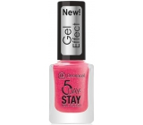 Dermacol 5 Day Stay Gél Effect dlhotrvajúci lak na nechty s gélovým efektom 29 Burlesque 12 ml