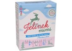 JELEN JELÍNEK Baby prací prášok 60 dáv.3kg BOX 0031