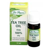 Dr. Popov Tea Tree Oil 100% čistý Tea Tree Oil s antiseptickými účinkami, v najvyššej možnej kvalite 11 ml