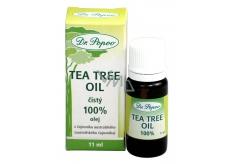 Dr. Popov Tea Tree oil 100% čistý Tea Tree Oil s antiseptickými účinkami, v najvyššej možnej kvalite. 11ml