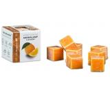 Kozák Sladký pomaranč prírodné vonný vosk do aromalámp a interiérov 8 kociek 30 g
