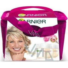 Garnier Orchid Vital pre zrelú pleť dennú a nočnú starostlivosť 50 ml + taška, kozmetická sada