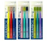 Curaprox CS 3960 Sensitive Super Soft veľmi jemná tvrdosť zubná kefka 3 kusy