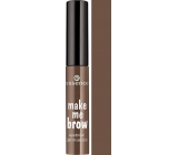 Essence Make Me Brow Eyebrow Gel Mascara gelová řasenka na obočí 02 Browny Brows 3,8 ml