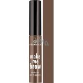 Essence Make Me Brow Eyebrow Gél gélová riasenka na obočie 02 Browna Browse 3,8 ml