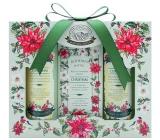 Bohemia Gifts & Cosmetics Green Spa sprchový gél 100 ml + toaletné mydlo 100 g + šampón na vlasy 100 ml