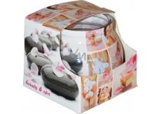Admit Beauty & spa dekorativní aromatická svíčka ve skle 80 g