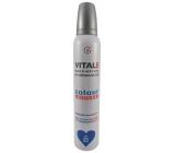 Vitale Exclusively Professional farbiace penové tužidlo s vitamínom E Blue - Modrý 200 ml