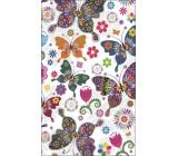 Albi Bloček kapesní linkovaný Motýlci 96 stran 9,5 cm x 15,5 cm x 0,9 cm