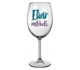 Nekupto Na Zdravie poháre na víno Elixír mladosti 440 ml