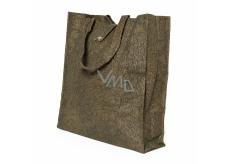 Albi Eko taška vyrobená z pratelného papiera skladacie - hnedá 37 cm x 37 cm x 9,5 cm