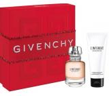 Givenchy L Interdit Eau de Parfum toaletná voda pre ženy 50 ml + telové mlieko 75 ml, darčeková sada