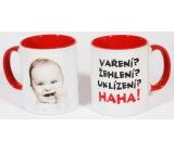 Nekupto Humor po Česku hrnek 016 0,4 litru 1 kus