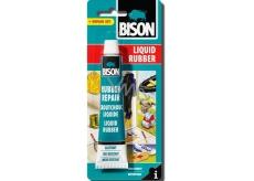 Bison Liquid Rubber tekutý kaučuk 50 ml blister, priehľadná pasta na opravy, ochranu a impregnáciu tisícov rôznych predmetov