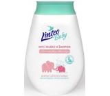 Linteo Baby Bio s Měsíčkem lékařským mycí mléko a šampon 250 ml