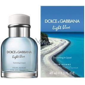 Dolce & Gabbana Light Blue Swimming in Lipari toaletní voda pro muže 40 ml