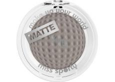 Miss Sporty Studio Colour Mono Eyeshadow Matte oční stíny 121 Rock 2,5 g