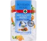 Bohemia Herbs Med a Kozí mléko toaletní mýdlo 100 g