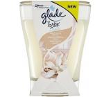 Glade by Brise Něžný dotyk vanilky vonná velká svíčka ve skle 224 g