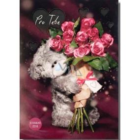 Me to You Svietiaca želanie s ružami Pre Teba 14,8 x 21 cm