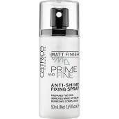 Catrice Prime And Fine Anti-Shine Fixing Spray fixační sprej 50 ml