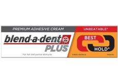 Blend-a-dent Plus Dual Power fixačný krém na zubnú náhradu 40 g